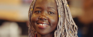 Face-to-Face Speaker and Refugee Week Ambassador Lizzy Kuoth